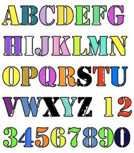 Synesthesia Alphabet